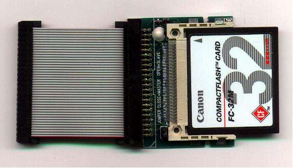 Compact flash instead of HDD! - Lemon Amiga Forum